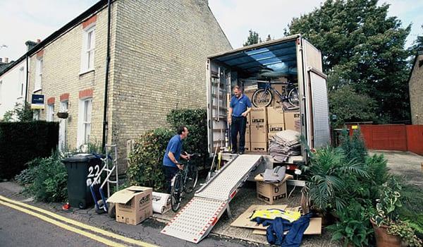 moving vehicle