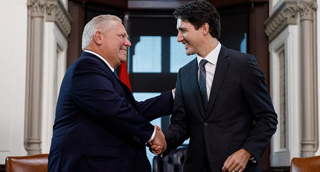 We shouldn't be surprised by Trudeau-Ford meeting