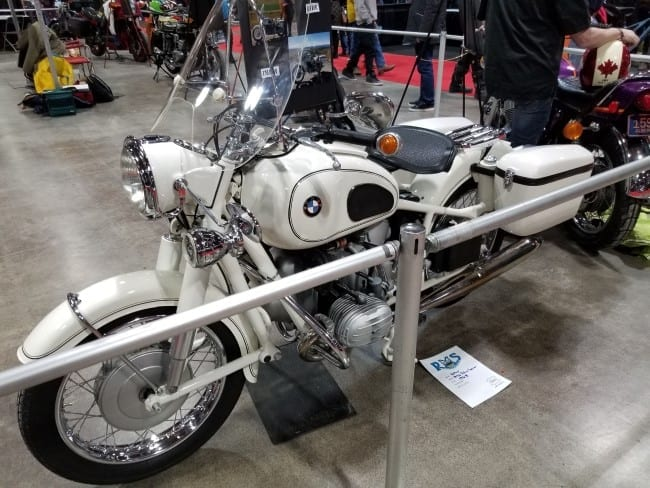1968 BMW R50 Police Special motorcycle